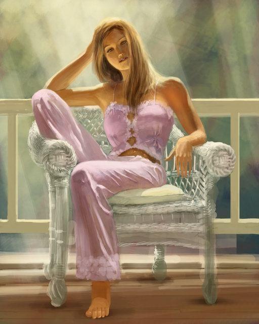 Femme sur la terrasse.. dans ET LES FEMMES ! tz228mok